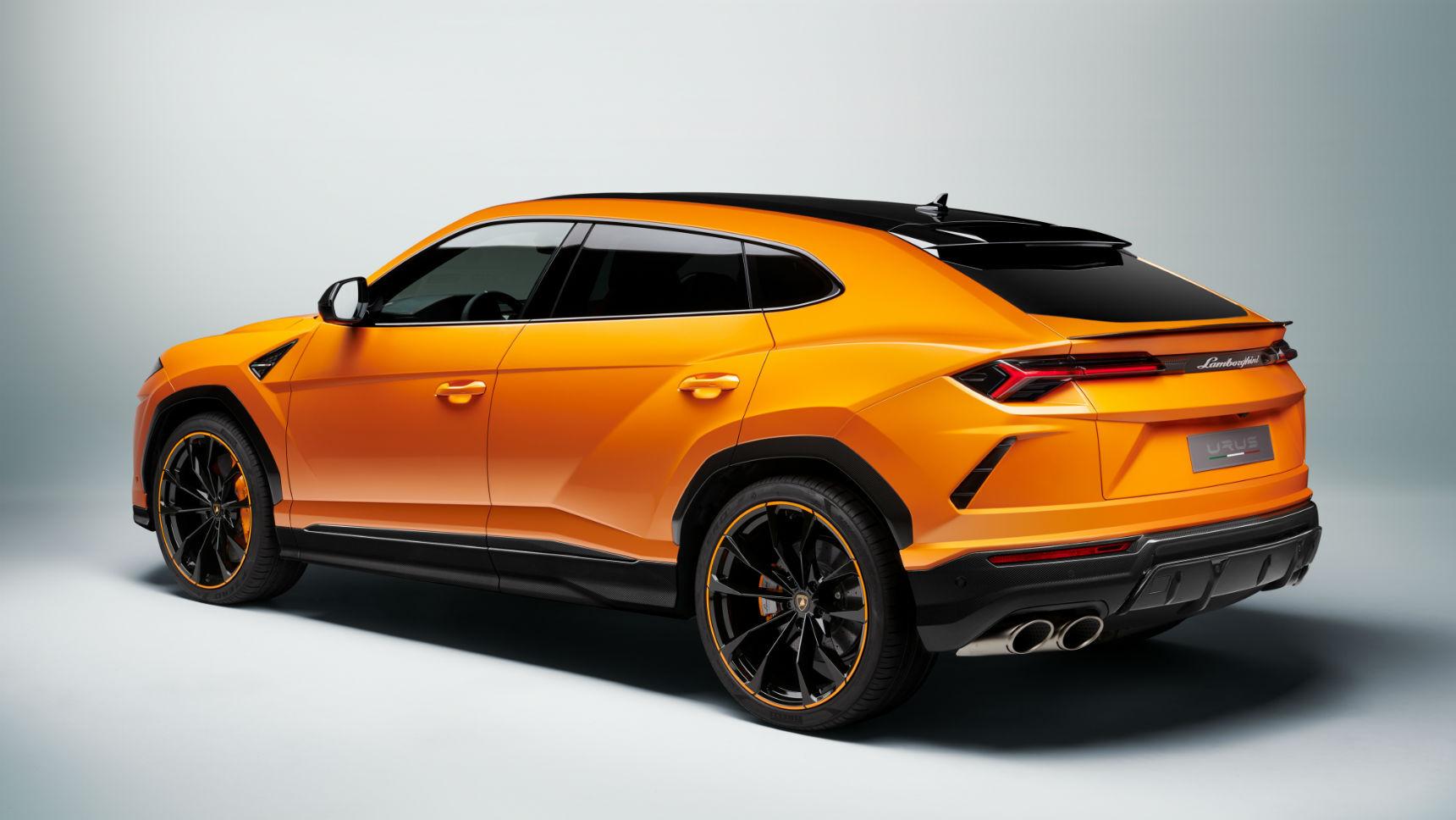 Lamborghini Urus получил «жемчужную капсулу»