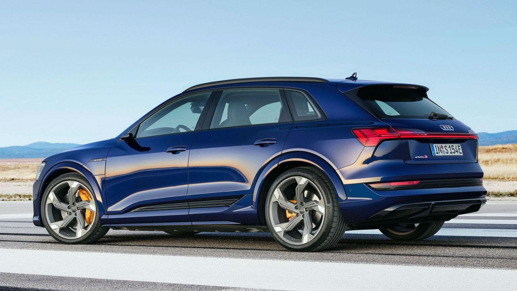 Audi добавит электро-кроссу мощности