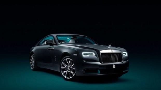Rolls-Royce подготовил спецверсию Wraith со скрытым посланием