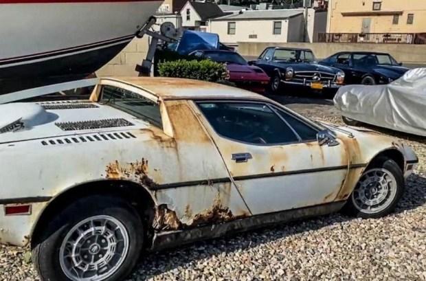 Редкий «металлолом»: в гараже обнаружили Maserati Merak