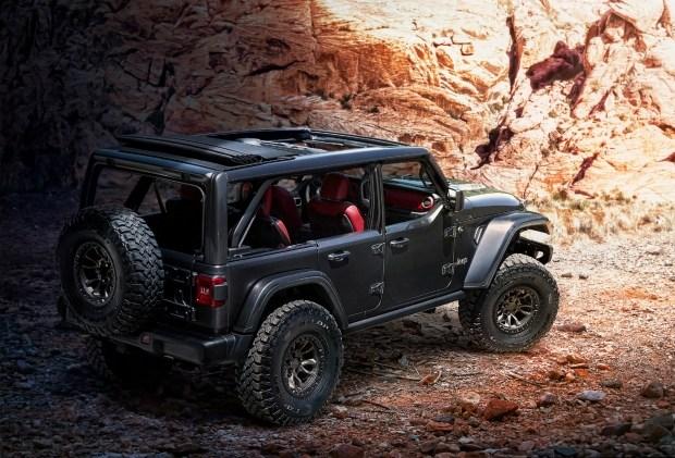 Wrangler с V8: Bronco чем ответишь?