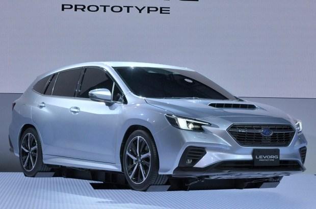 Subaru приоткрывает новый Levorg