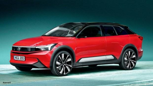 Volvo готовит купеобразный кроссовер на батарейках