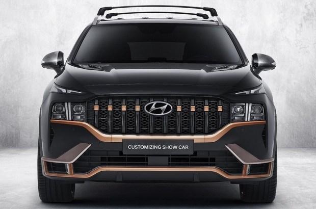 Hyundai показал каким будет «заряженный» Santa Fe