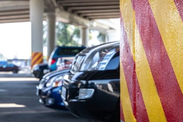 На въездах в Киев обустроят шесть перехватывающих парковок
