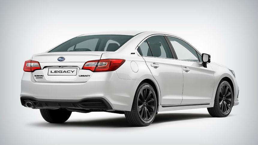 Subaru объявила цены на прощальный Legacy в России