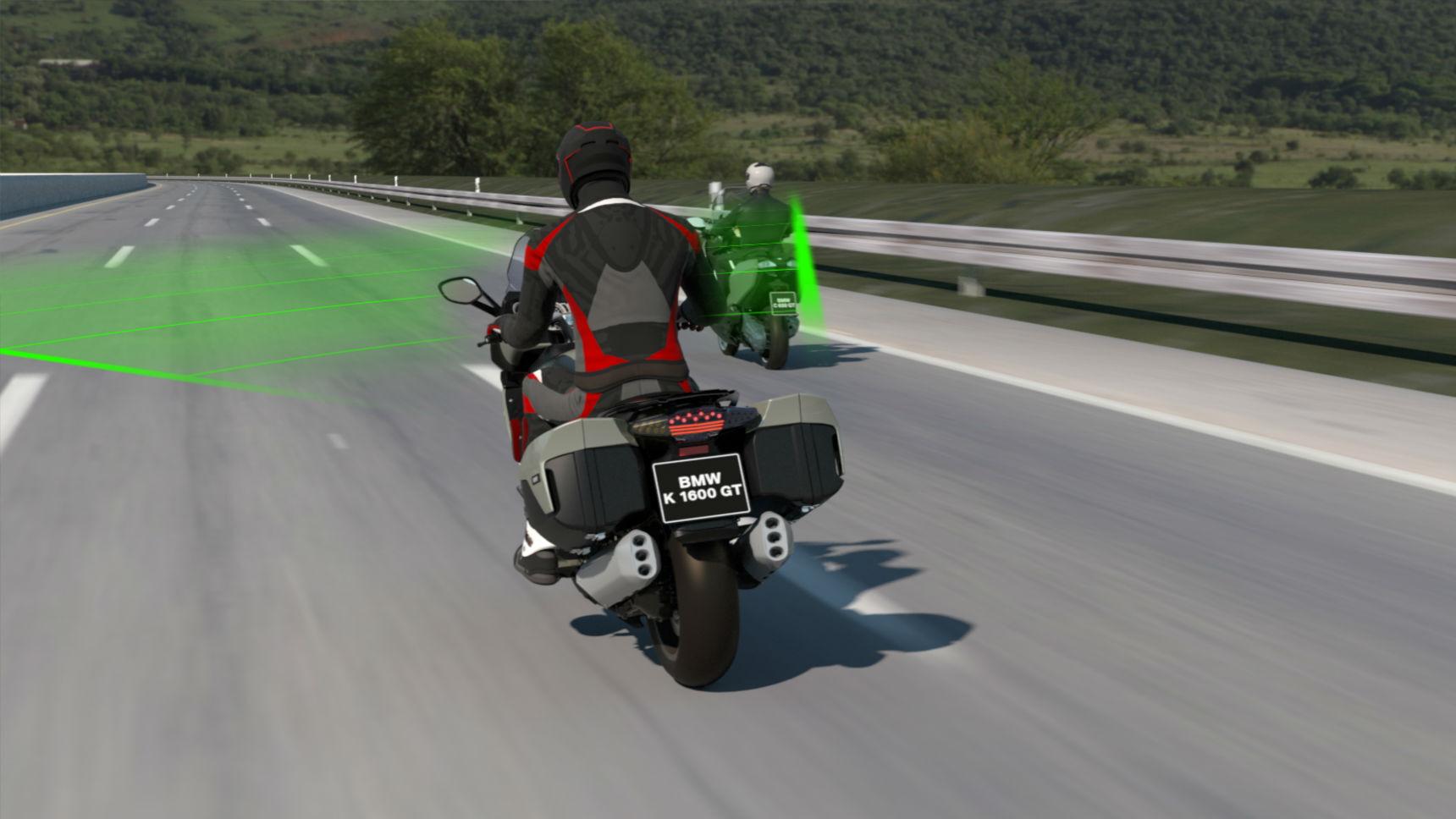 Мотоциклы BMW получат уникальную опцию