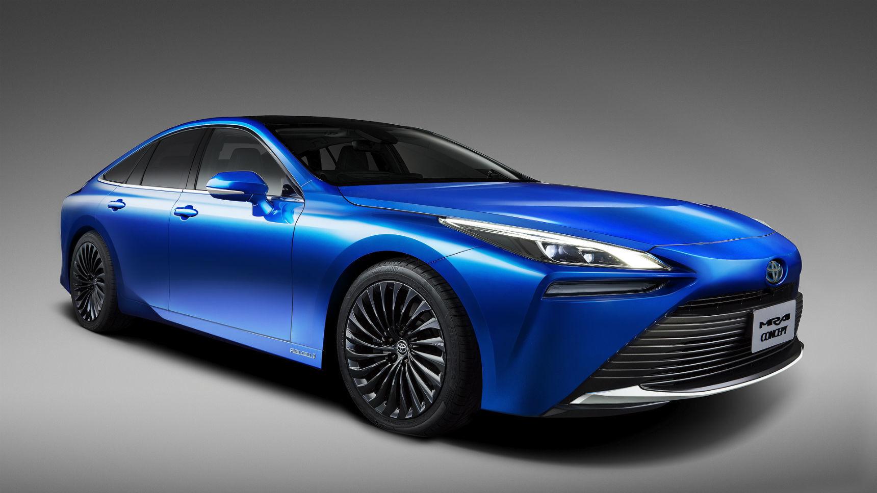 Известны сроки появления нового водородомобиля Toyota