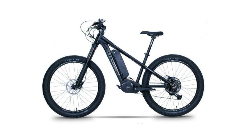 Умельцы построили электрический велосипед для зимней езды
