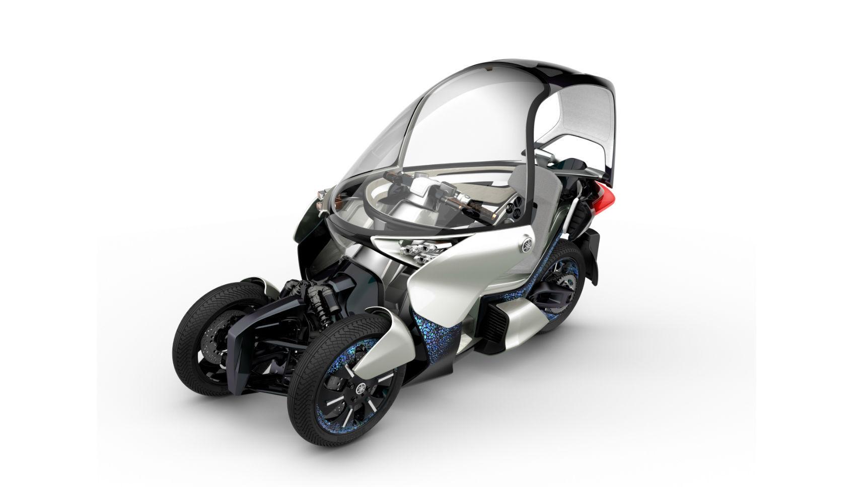 Yamaha работает над озеленением своей трехколесной линейки