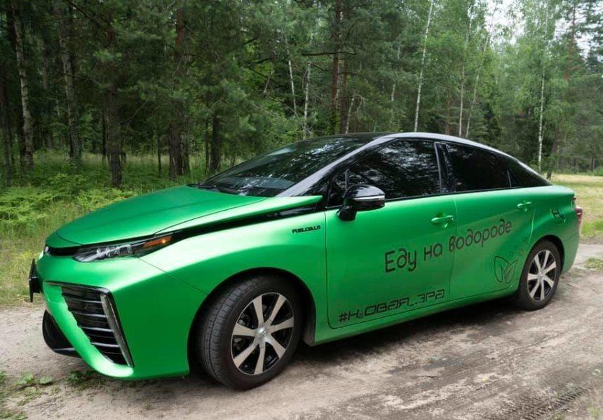 В России появилась первая водородная заправка