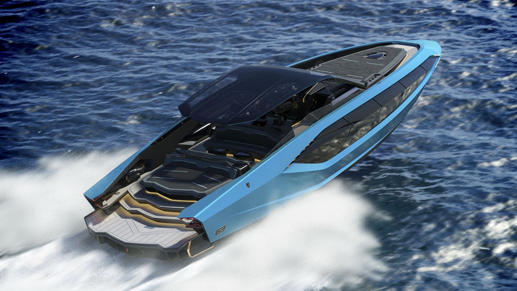 Lamborghini построил яхту в стиле Sian