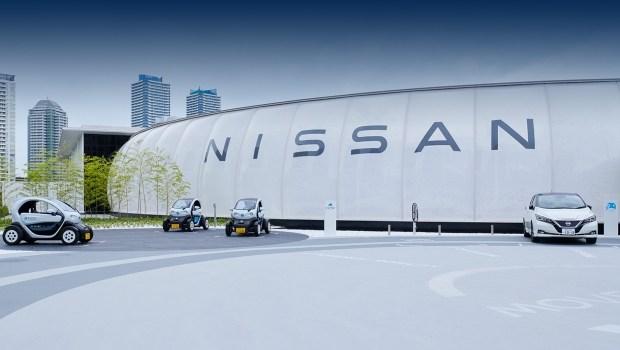 Плата за парковку электричеством. Что задумал Nissan?