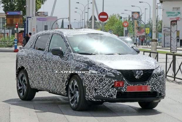 Новый Nissan Qashqai засекли на дорогах общего пользования