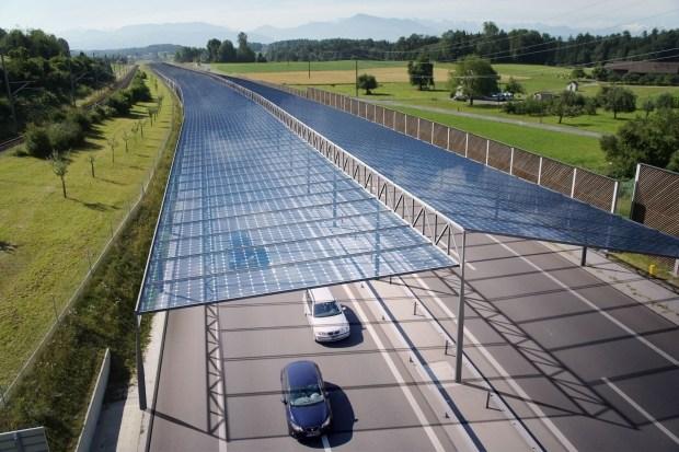 Интересный проект по установке солнечных электростанций в Европе