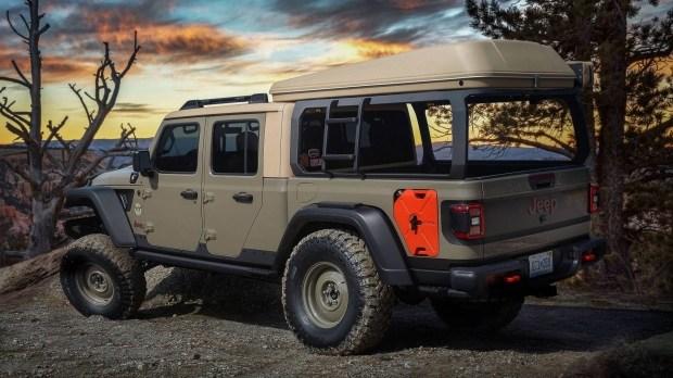 Gladiator на отдыхе: Jeep представил новый кемпер