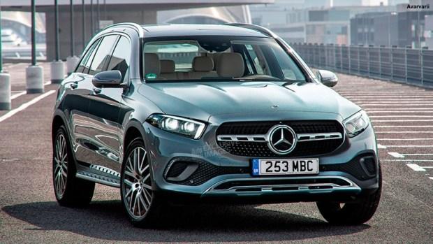 Новый Mercedes GLC: первые изображения