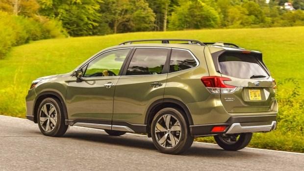 Subaru Forester подвергся плановой модернизации