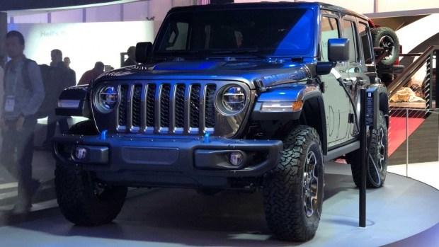 Jeep раскрыл время дебюта внедорожника 21-го века