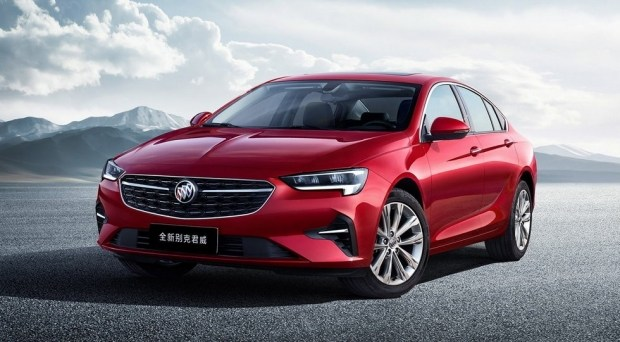 Opel Insignia с американским названием для рынка Китая