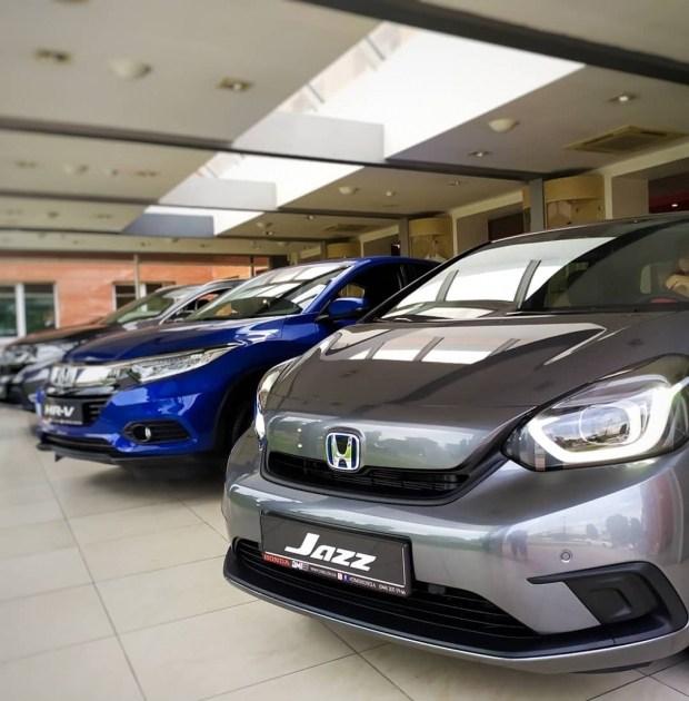 Honda Jazz Hybrid! Долгожданная новинка уже в Украине!