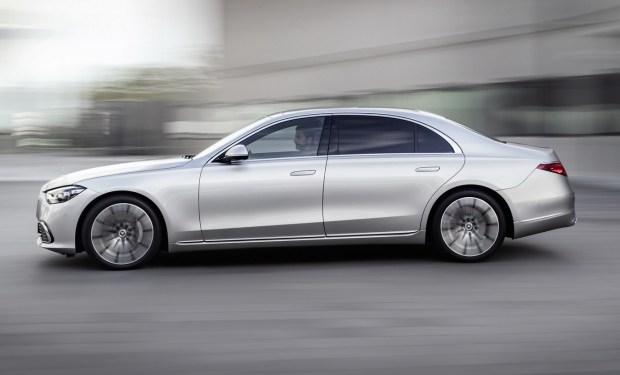 Новый Mercedes-Benz S-Class теперь официально