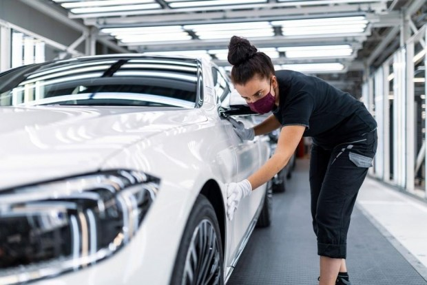 «Завод будущего» для сборки нового S-Class