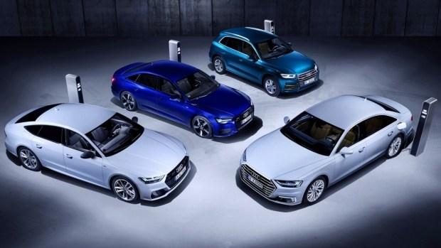 Audi пополнит линейку гибридов