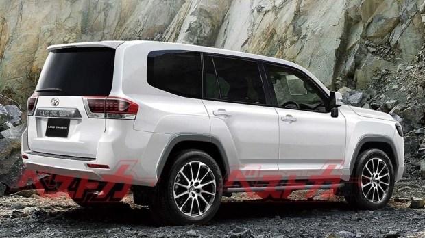 Toyota Land Cruiser 300: новые подробности