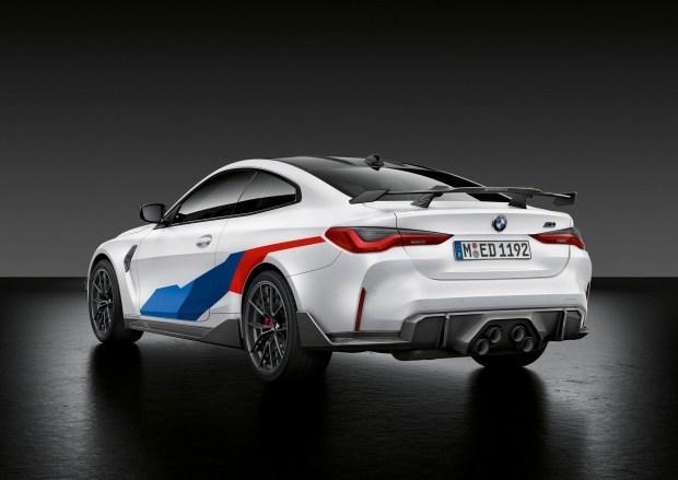 Новые BMW M3 и M4 в обвесе M Performance