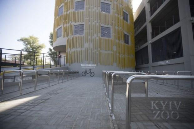 В Киеве открыли лучший муниципальный паркинг в Украине