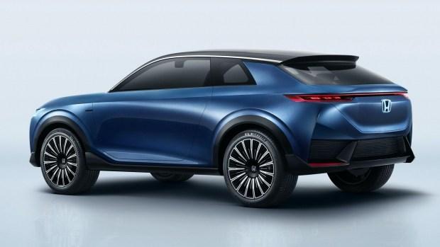 Honda раскрыла внешность электрического кросс-купе