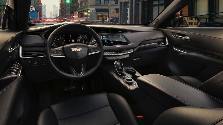 Компакт-кросс Cadillac научили узнавать владельца в лицо