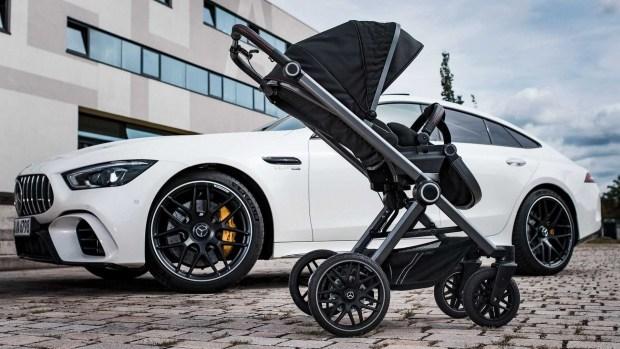 Mercedes-AMG представил спортивную детскую коляску