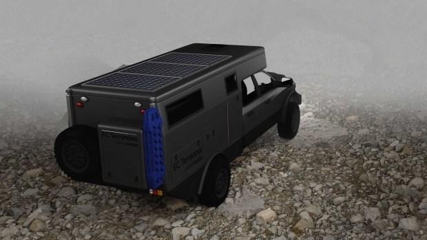 Идеальный кемпер для путешествий от EarthCruiser