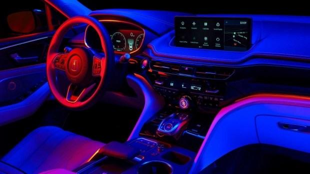 Acura раскрыла интерьер своего нового флагманского кроссовера