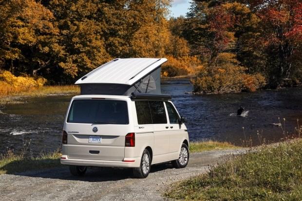 Доступная «пляжная» California от VW