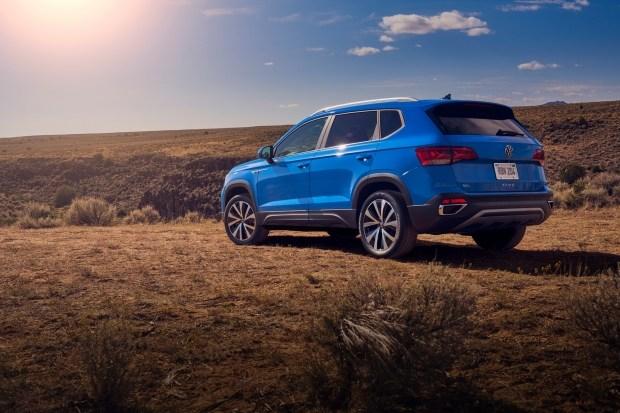 Новый кроссовер VW Taos представлен официально