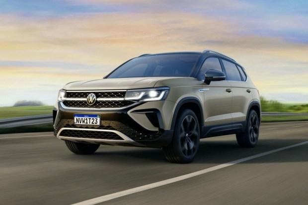 VW представил Taos попроще