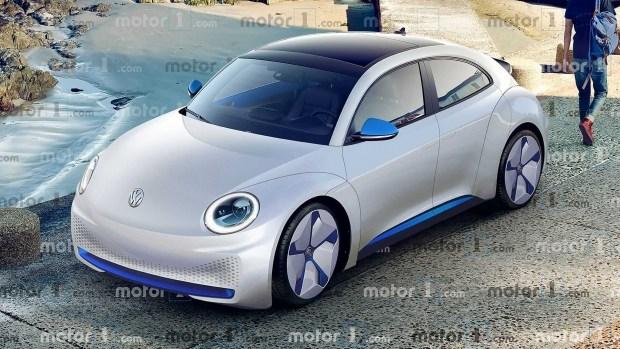 Электрокар с нотками ретро: каким может быть VW ID. Beetle