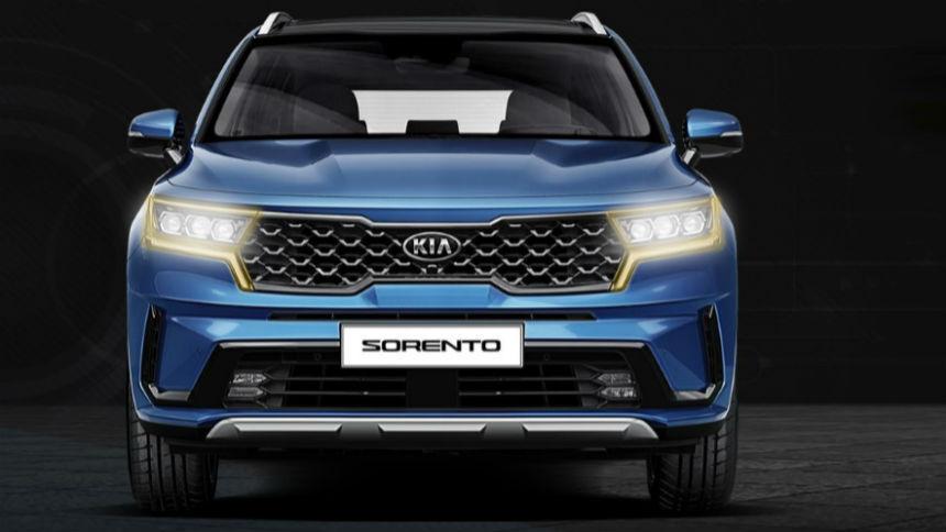 Новый Kia Sorento для России получит «глаза тигра» и новый двигатель