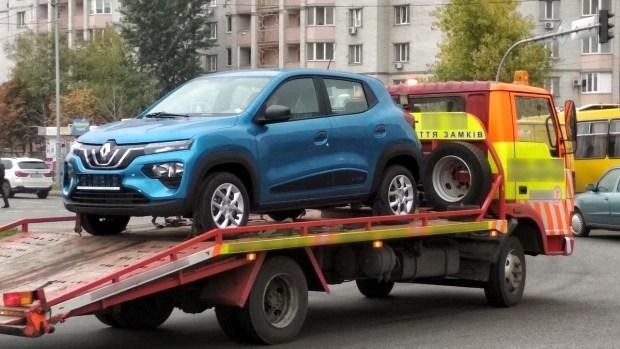 Электрокар Renault за .000 уже в Украине