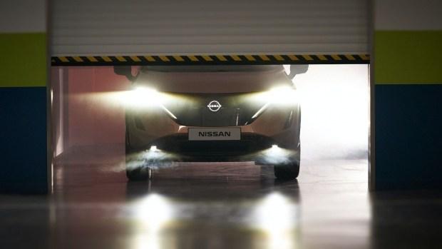 Nissan Ariya добрался до Европы
