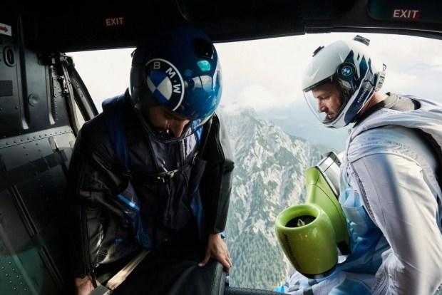 BMW представила «рюкзак» который разгонит вас до 300 км/ч! (видео)