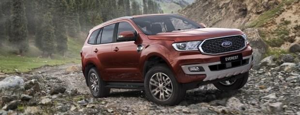 В путешествие на Everest: Ford представил спецверсию внедорожника