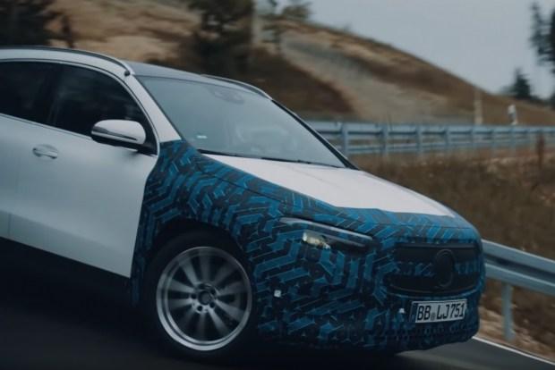 Как проходят испытания электрокаров Mercedes?