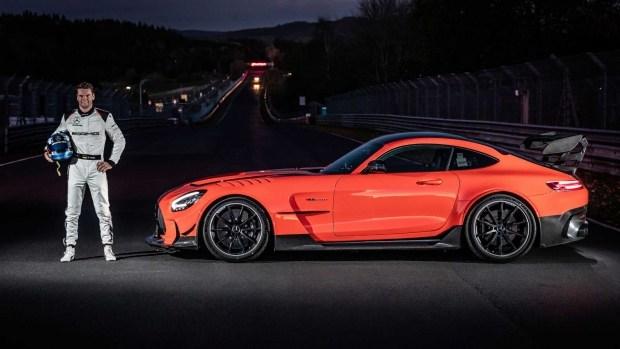 Mercedes-Benz AMG GT Black Series: новый король «Ада»