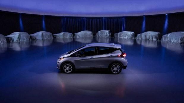 «Пятилетка» GM: 30 новых «электричек» за 60 месяцев