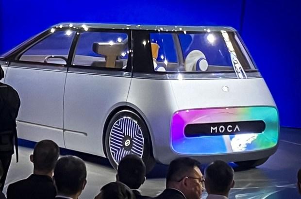 Mocha с двумя экранами снаружи: новый концепт-кар