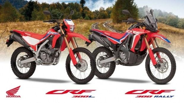Эндуро Honda CRF300 Rally / CRF300L для Европы